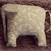 Для дома и интерьера ручной работы. Ярмарка Мастеров - ручная работа подушка слон. Handmade.