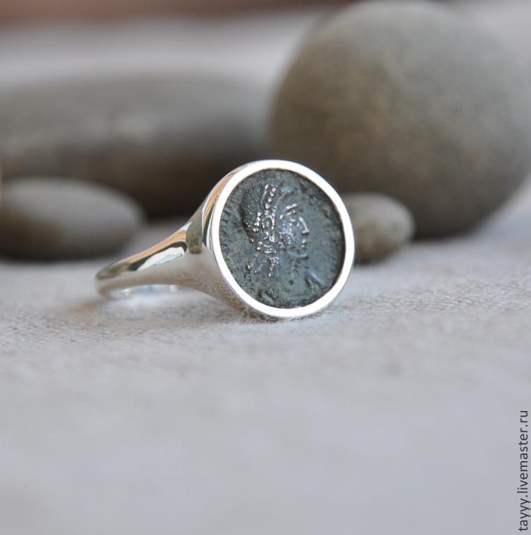 Перстень с монетой как сделать - ВМС Строй