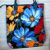 """ручной работы. Ярмарка Мастеров - ручная работа Сумка """"Цветы"""". Handmade."""