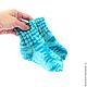 носочки детские вязаные купить, детские носки вязаные, вязаные носочки детские