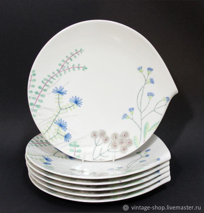 Винтаж: Villeroy & Boch столовые тарелки Flow Couture, Тарелки винтажные, Франкфурт-на-Майне,  Фото №1