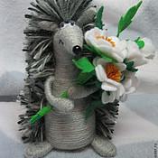 Куклы и игрушки ручной работы. Ярмарка Мастеров - ручная работа Ёжики. Handmade.