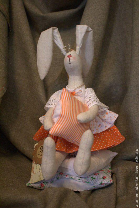 Куклы Тильды ручной работы. Ярмарка Мастеров - ручная работа. Купить Тильда-зайка ЖОРЖЕТА. Handmade. Тильда, заяц тильда