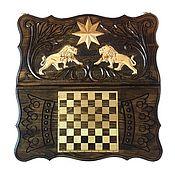 Активный отдых и развлечения handmade. Livemaster - original item Backgammon handmade