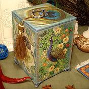 Для дома и интерьера handmade. Livemaster - original item The box in the Oriental style