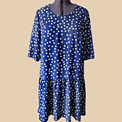 Одежда handmade. Livemaster - original item Dress in favorite peas.. Handmade.