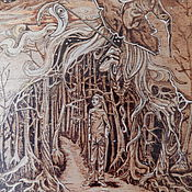 """Картины и панно ручной работы. Ярмарка Мастеров - ручная работа Картина """"Заблуждение"""". Handmade."""