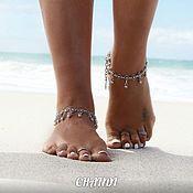 Украшения handmade. Livemaster - original item Pair anklets. Handmade.