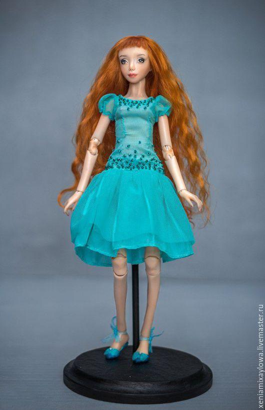 Коллекционные куклы ручной работы. Ярмарка Мастеров - ручная работа. Купить Сьюзи.. Handmade. Бжд, шарнирные куклы, шарниная кукла