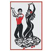 Материалы для творчества ручной работы. Ярмарка Мастеров - ручная работа Набор для вышивания Танец страсти. Handmade.