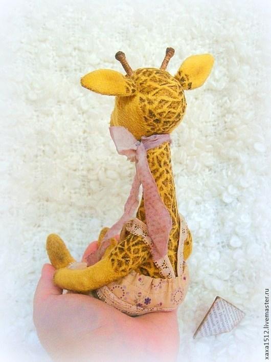 Мишки Тедди ручной работы. Ярмарка Мастеров - ручная работа. Купить Пьер:) жираф тедди. Handmade. Желтый, купить подарок