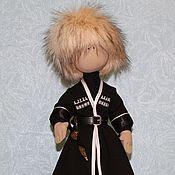 Куклы и игрушки ручной работы. Ярмарка Мастеров - ручная работа Коллекционная текстильная кукла Аварец. Handmade.