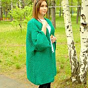 Одежда handmade. Livemaster - original item Knitted cardigan,open knit