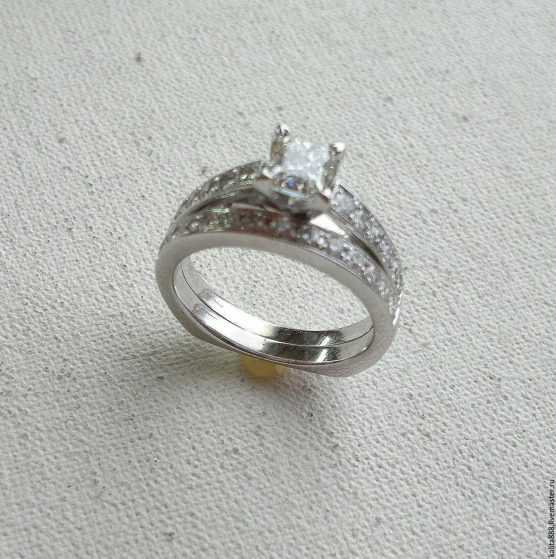 Кирилл Калита · Кольца ручной работы. Помолвочное кольцо с бриллиантом и обручальное  кольцо с бриллантами. Кирилл Калита 4dd61145abf
