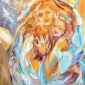 Картины и панно handmade. Livemaster - original item Guardian - painting on canvas. Handmade.