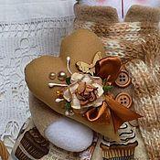 Куклы и игрушки ручной работы. Ярмарка Мастеров - ручная работа Кошечка Гляссе. Handmade.