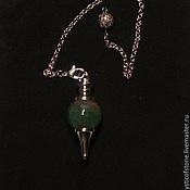 Фен-шуй и эзотерика handmade. Livemaster - original item Indian agate 40mm Gemstone Ball Pendulum Chakra Pendant. Handmade.