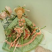 Сувениры и подарки handmade. Livemaster - original item Gifts for March 8: Angel in the style of Tilda, a doll as a gift. Handmade.