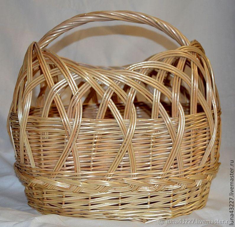 Bag basket wicker, Basket, Kirovo-Chepetsk,  Фото №1