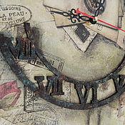 Для дома и интерьера ручной работы. Ярмарка Мастеров - ручная работа Часы в подарок с Вашим фото большие и необычные. Handmade.