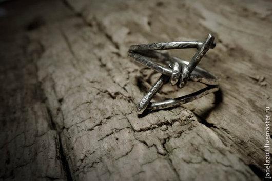 Кольца ручной работы. Ярмарка Мастеров - ручная работа. Купить Кольцо Thorn из серебра 925 пробы, ручная работа. Handmade.