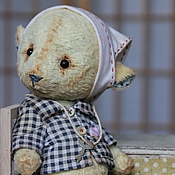 Куклы и игрушки ручной работы. Ярмарка Мастеров - ручная работа Мишка Лемончик. Handmade.