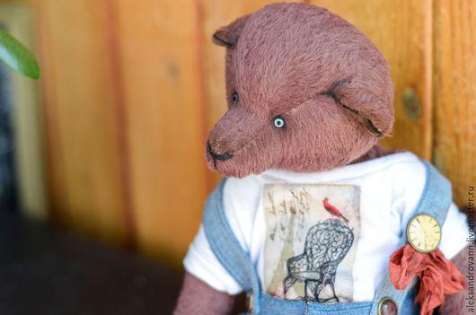 Мишки Тедди ручной работы. Ярмарка Мастеров - ручная работа. Купить Тедди Мишка Себастьян. Handmade. Мишка тедди, путешественник