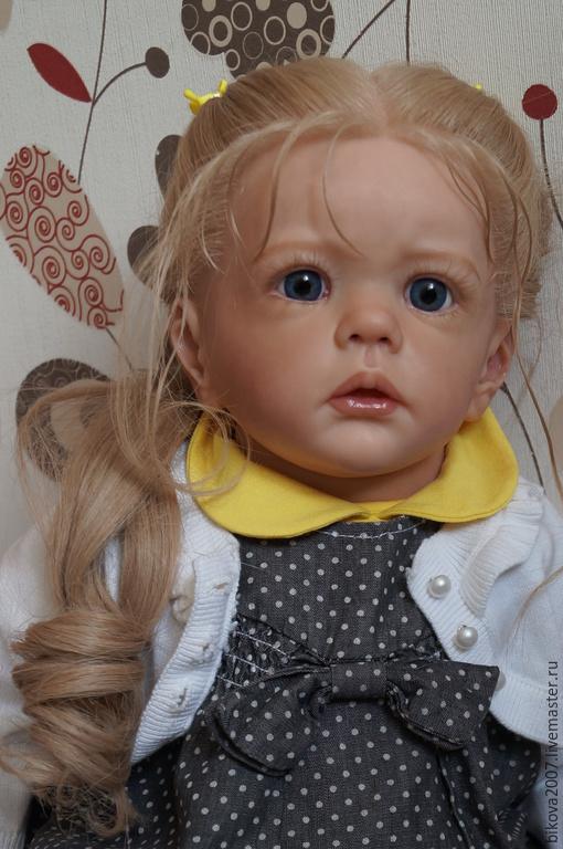 Куклы-младенцы и reborn ручной работы. Ярмарка Мастеров - ручная работа. Купить Милана. Handmade. Желтый, генезис