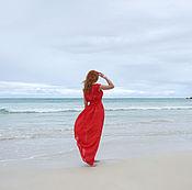 Одежда ручной работы. Ярмарка Мастеров - ручная работа Вечернее платье Возвращение Ассоль. Handmade.