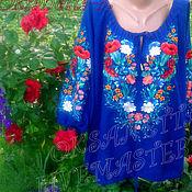 Одежда handmade. Livemaster - original item Embroidered shirt