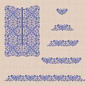 """Материалы для творчества handmade. Livemaster - original item Дизайны машинной вышивки """"Мозаика_1"""" для мальчика bt089. Handmade."""