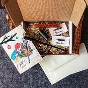 Материалы для творчества handmade. Livemaster - original item New year calligraphy set. Handmade.