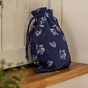 Для дома и интерьера handmade. Livemaster - original item Linen storage bag. Packaging. Acomadate. Ecomerce. Handmade.