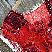 """Одежда ручной работы. Ярмарка Мастеров - ручная работа Жилет """"Масленичный пэчворк"""". Handmade."""