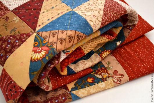 Быт ручной работы. Ярмарка Мастеров - ручная работа. Купить Детское лоскутное одеяло. Handmade. Русский стиль, лоскутное панно