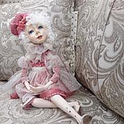 """Куклы и игрушки ручной работы. Ярмарка Мастеров - ручная работа Авторская будуарная кукла: """"Жизнь в розовом цвете"""".. Handmade."""
