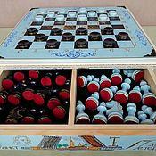 Куклы и игрушки handmade. Livemaster - original item Chess casket of wood