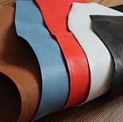 Материалы для творчества handmade. Livemaster - original item a set of leather crust no. №2. 1,2-1,5 mm thick.. Handmade.