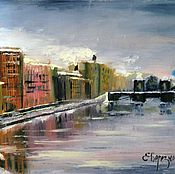 Картины и панно handmade. Livemaster - original item St. Petersburg. Oil painting on the stretched canvas. Handmade.