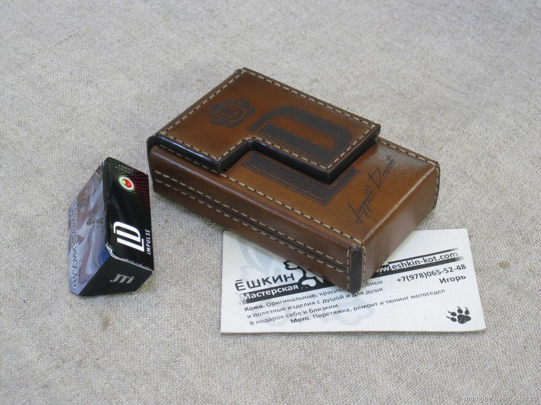 Cigarette case. sigaretta. Personalized gift. Option with the LD brand, Cigarette cases, Yalta,  Фото №1