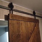 Для дома и интерьера ручной работы. Ярмарка Мастеров - ручная работа Амбарные двери. LOFT двери с монтажом.. Handmade.