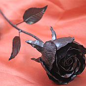 Цветы ручной работы. Ярмарка Мастеров - ручная работа Кованая роза. Handmade.