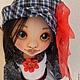 Коллекционные куклы ручной работы. Майя. Текстильная игровая кукла. Талалайко Анна. Ярмарка Мастеров. Кукла ручной работы