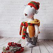 Куклы и игрушки handmade. Livemaster - original item New Year`s Tiger. Symbol of the year 2022. Handmade.