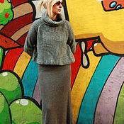 Одежда ручной работы. Ярмарка Мастеров - ручная работа Юбка Граффити. Handmade.