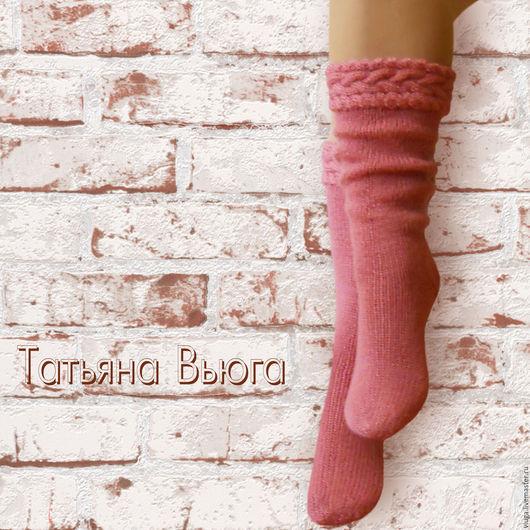 Носки шерстяные, вязаные носки, длинные вязаные носки, вязаные гольфы, обувь для дома, домашние носки, сапожки вязаные, гетры высокие длинные, носки в подарок, носки мужские, гольфы женские.