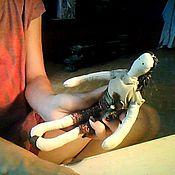Куклы и игрушки ручной работы. Ярмарка Мастеров - ручная работа Текстильная кукла Дженни. Handmade.