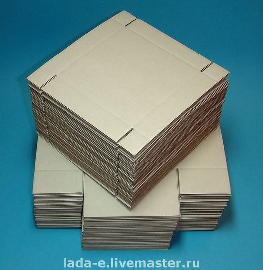 Упаковка ручной работы. Ярмарка Мастеров - ручная работа. Купить Коробочка ЗАГОТОВКА (цена за упаковку 50 штук) цвет бурый. Handmade.