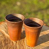 """Посуда ручной работы. Ярмарка Мастеров - ручная работа Винные стаканы """"Vetro"""". Handmade."""