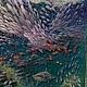 Фантазийные сюжеты ручной работы. Ярмарка Мастеров - ручная работа. Купить Авторская 3Д картина Властелины морей. Handmade. Море